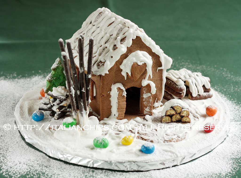 A loving gingerbread house recipe (with no ginger)