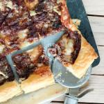 Onion Tart With Gorgonzola