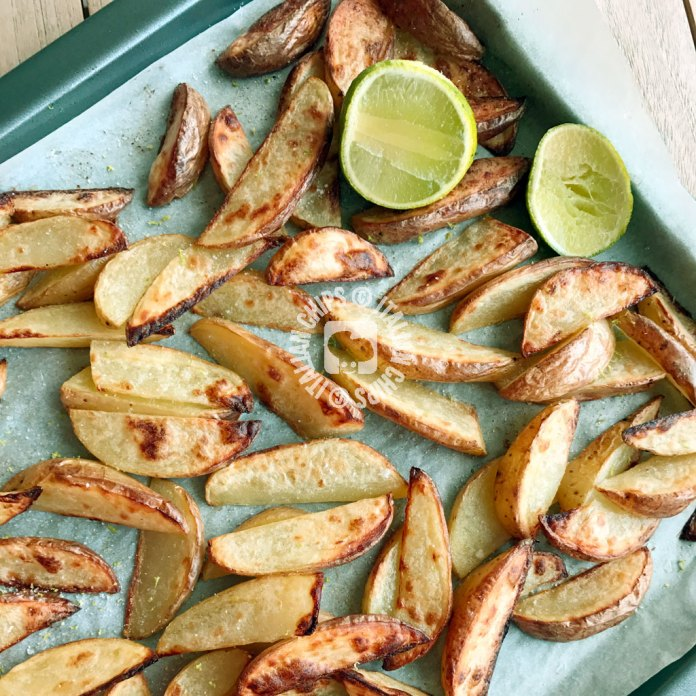 roasted potatoes with lime