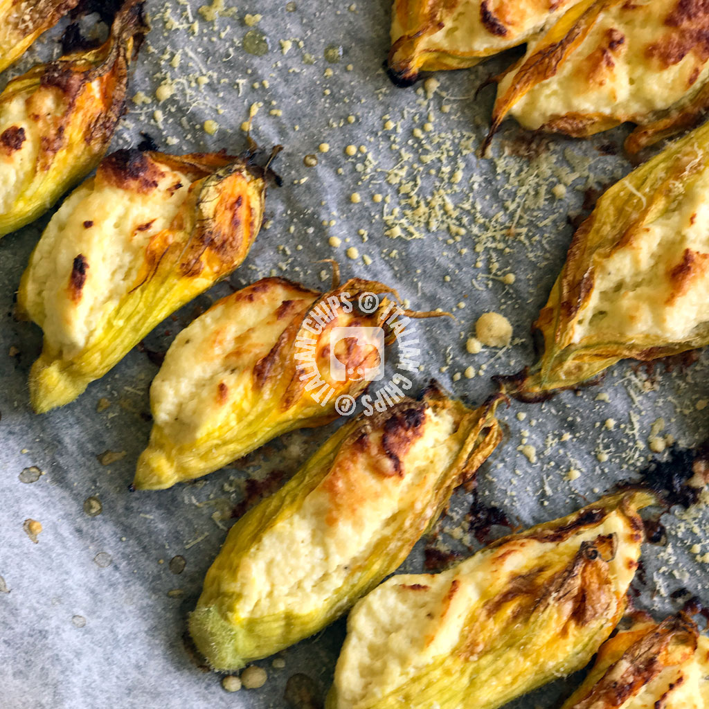 Stuffed Zucchini Flowers to Die For