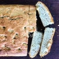 Locatelli's focaccia (no knead)