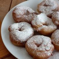 Italian donuts,the Carnival fritters in Italy