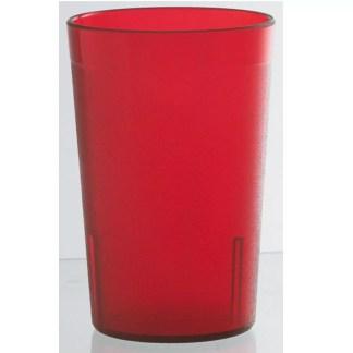 Bicchiere rosso 6 pezzi