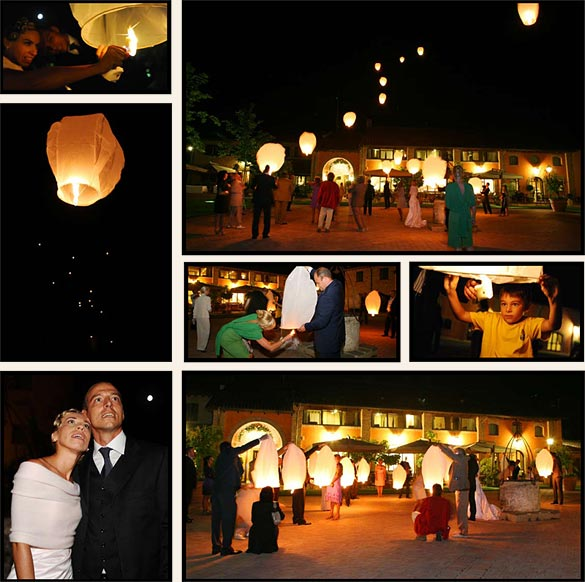 flying-lanterns-italian-wedding