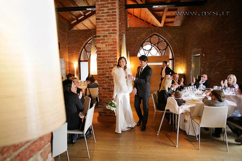Food and wine wedding