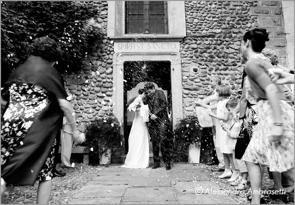private church wedding Villa Giannone Italy