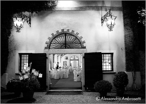 wedding reception room Villa Giannone Piemonte