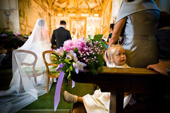 religious wedding ceremony in Lecco