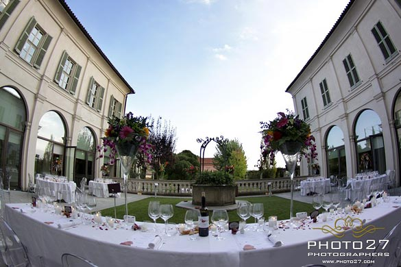 wedding in Barbaresco Castle
