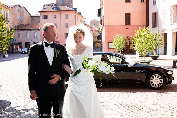 wedding ceremony in Alba Langhe