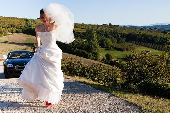 wedding in Langhe vineyards