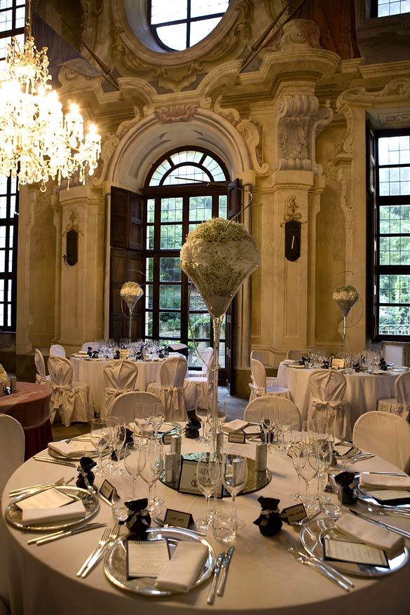 castle reception venue in Piedmont Italy
