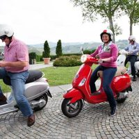A Vespa Tour and a Surprise Wedding in Langhe