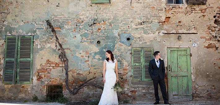 A Country Wedding in a Monferrato Castle