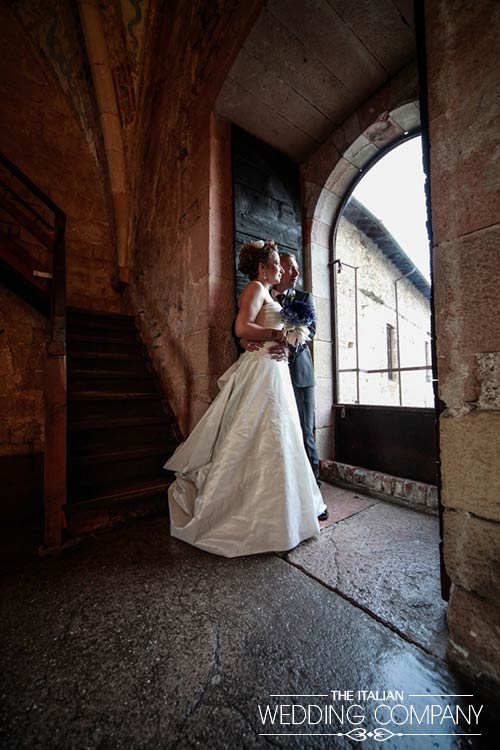vineyard wedding at Borromeo Castle Lake Maggiore Italy photo by Matrimoni d'Autori