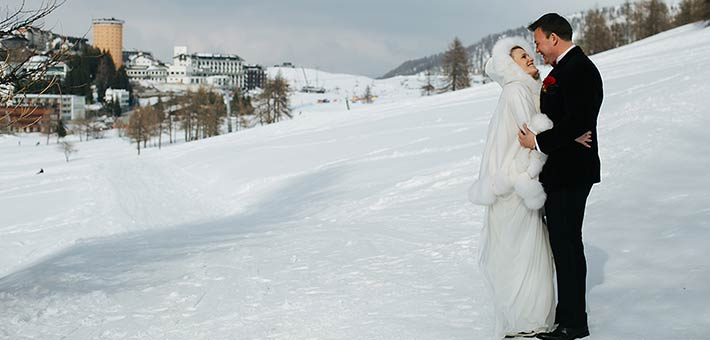 A Winter Wedding on Piemonte Alps - Sestriere