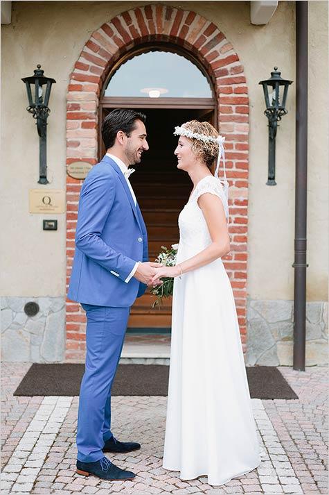 Boho Chic country wedding Italy