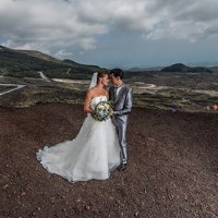 An Intimate Wedding on the top of Volcano Etna - Sicily