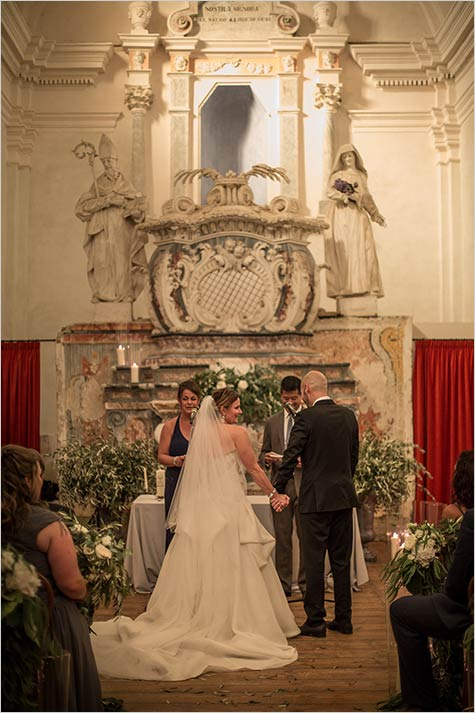 Church Wedding in Langhe Piemonte countryside