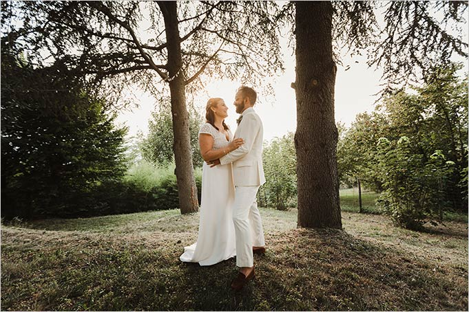 Country Chic wedding on top of Langhe hills