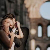 A Romantic wedding in San Galgano, Tuscany