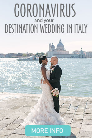 Coronavirus and your destination wedding in Italy