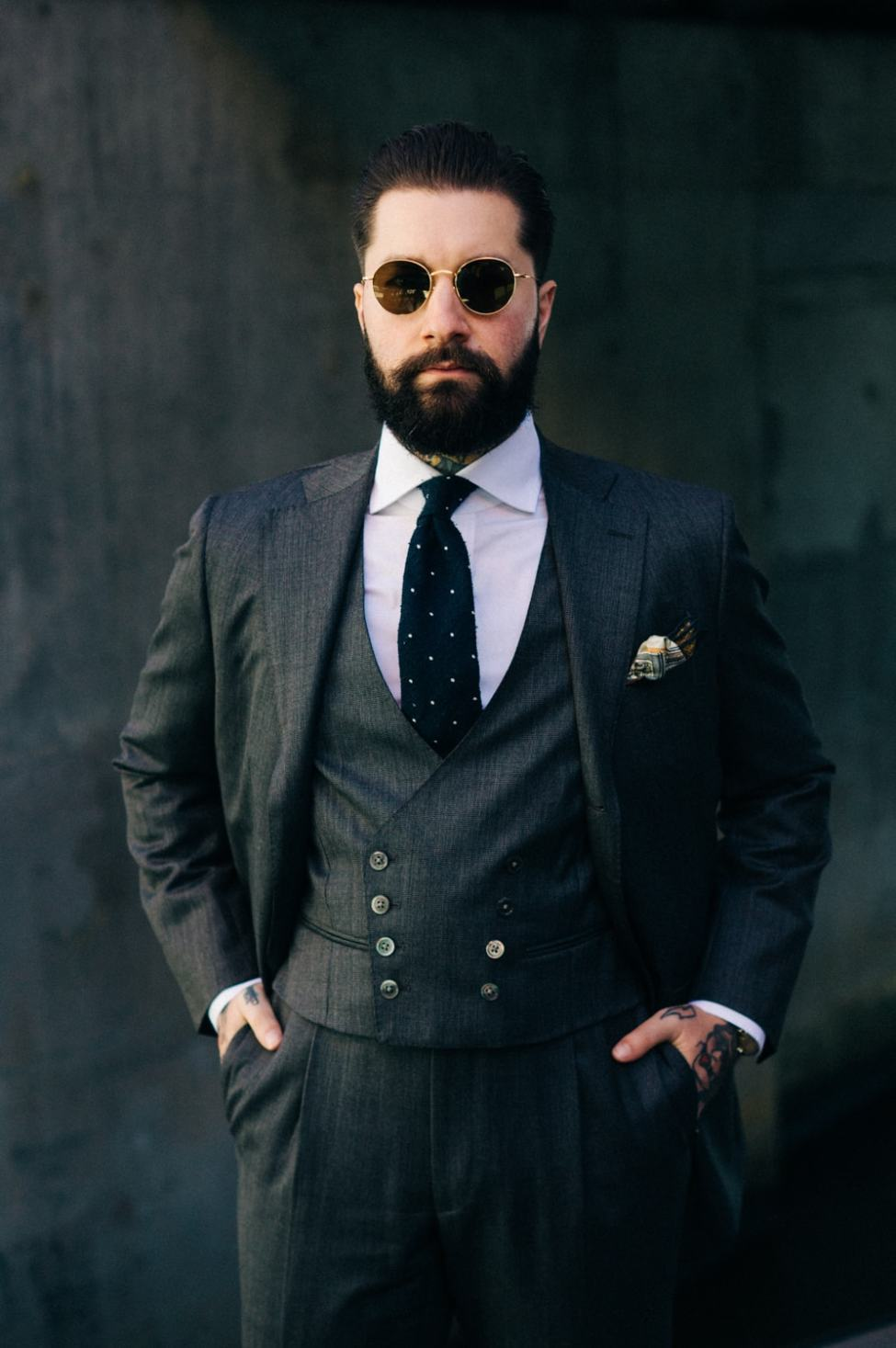 The Bespoke Dudes Eyewear Fabio Attanasio