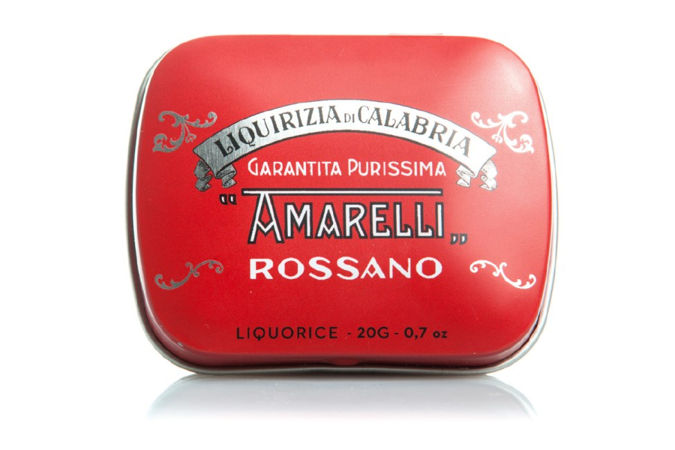 Liquirizia Rossa Amarelli Rossano