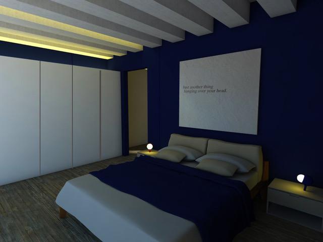 Camera Blu di Silvia de Giorgi