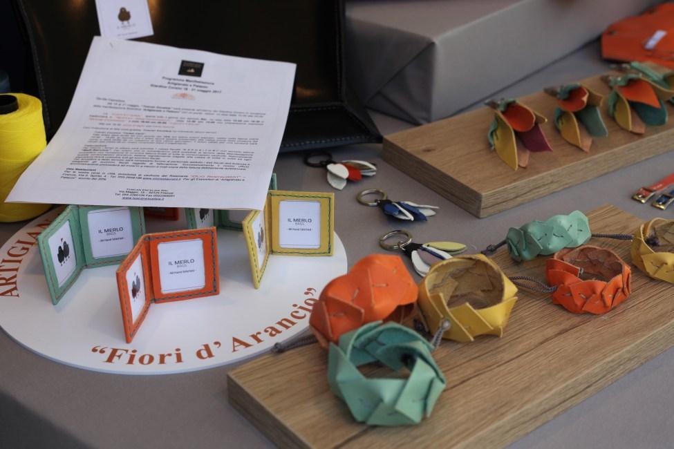 Il Merlo Bags ad Artigianato e Palazzo dettagli 2