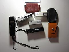 Alcune fotocamere 16mm