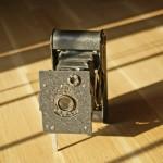 La fotocamera 127 folding Kodak vest Pocket Autographic