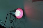 Lampadina rossa per attacco standard