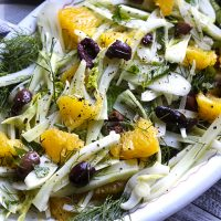 Sicilian Fennel & Orange Salad