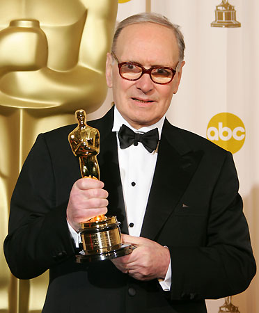 Morricone amb un Oscar