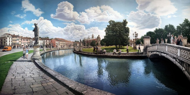 Image result for Prato della Valle, Padua