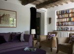 Casa San Nicola Holiday House Le Marche Italy Kitchen Living Room