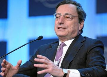 Mario Draghi. World Economic Forum 2012. Foto Flikr