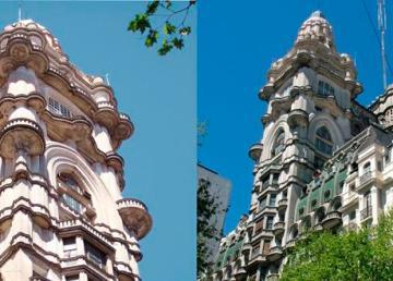 Buenos Aires: Torre Barolo e particolare. Foto di Prospero Sapone