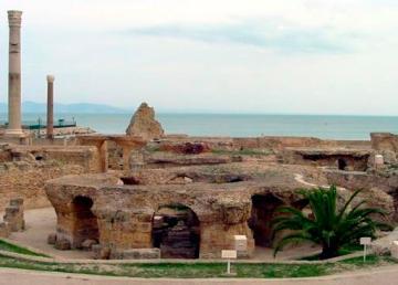 Tunisia. Rovine di Cartagine. Foto: Patrick Verdier