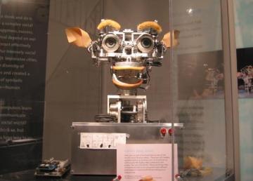 """Kismet robot at MIT Museum"". Licensed under CC BY-SA 3.0 via Wikimedia Commons - http://commons.wikimedia.org/wiki/File:Kismet_robot_at_MIT_Museum.jpg#/media/File:Kismet_robot_at_MIT_Museum.jpg"