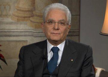 Il Presidente Mattarella nel suo discorso agli italiani del 31.12.2016. Fonte: https://www.youtube.com/user/presidenzarepubblica