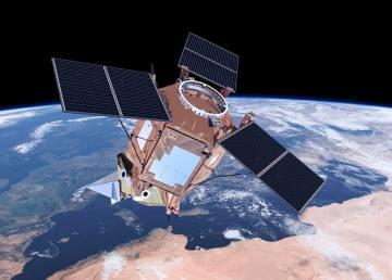 Il satellite dell'ESA Copernicus per Controllo della qualità dell'aria, foto ESA
