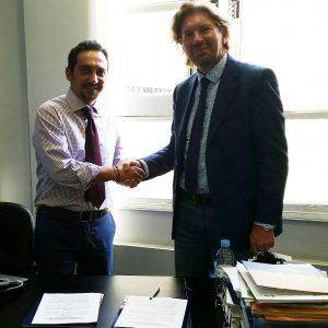 firma accordo antenna territoriale CCIS