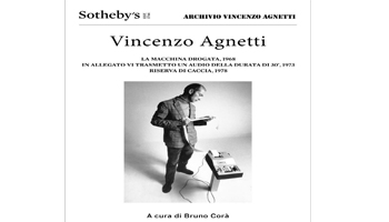 Sotheby's: mostra Vincenzo Agnetti
