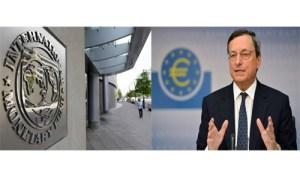 Fondo monetario Internazionale e mario Draghi - 500X300