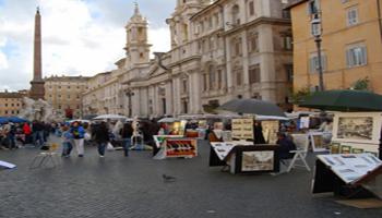 Il degrado del commercio a Roma e nel Lazio <br> di Fabrizio Santori