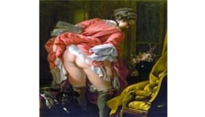 Francois Boucher, La Gonna Alzata, 1742