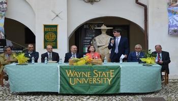 A Gagliano Aterno (L'Aquila) inaugurato il Corso di lingua e cultura italiana della Wayne State University (Detroit)