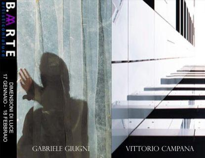Borghini Arte Contemporanea - Gabriele Giugni e Vittorio Campana - Locandina